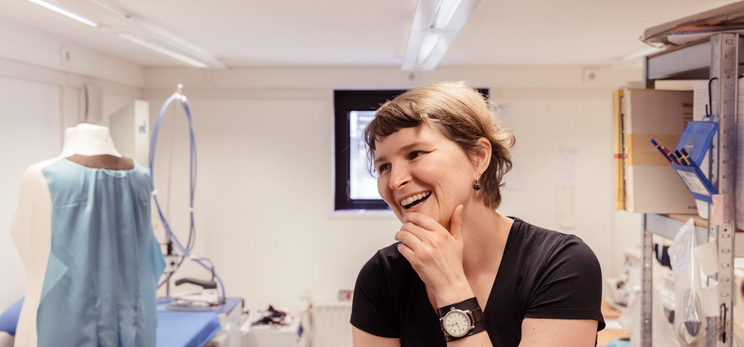 Jessica Lewerentz in ihrem Atelier.