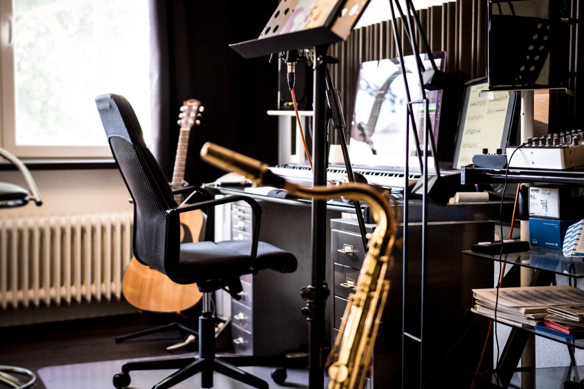 Das Musikstudio von Frank Schöttl